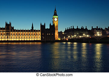 Houses of Parliament, London - Houses of Parliament at...