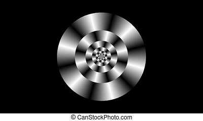 Graphic2-44 - Motion background with moving geometric shapes...