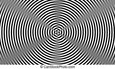 Graphic2-57 - Motion background with moving geometric shapes...