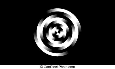 Graphic2-52 - Motion background with moving geometric shapes...