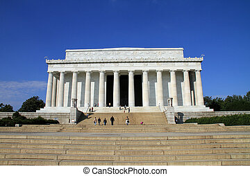 Beautiful Lincoln Memorial in Washington, DC