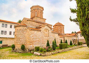 Saint Naum Monastery church in Macedonia - Saint Naum...