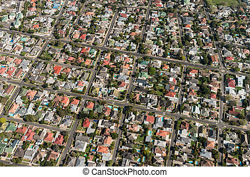 Cape Town (suburb) aerial view