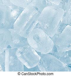 résumé,  cubes,  texture, fond, glace