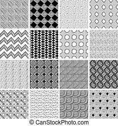 16 doodle patterns