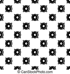 Audio cassette tape pattern vector - Audio cassette tape...