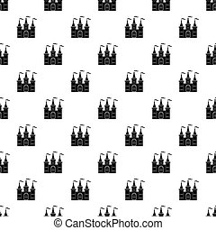 Comb pattern vector - Comb pattern seamless in simple style...