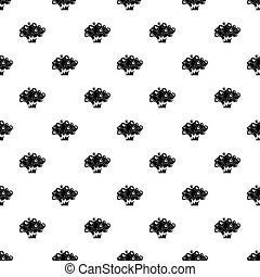 Atomical explosion pattern vector - Atomical explosion...