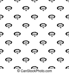 Cloudy explosion pattern vector - Cloudy explosion pattern...