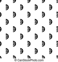Meat shashlik pattern vector - Meat shashlik pattern...