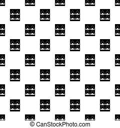 Asian shashlik pattern vector - Asian shashlik pattern...