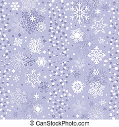 Seamless gentle violet-white striped christmas pattern