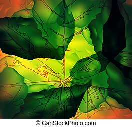 Image abstract background. - Abstract background. Leaf...