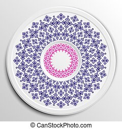 Image decorative plate