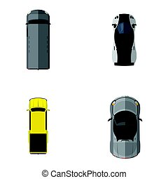Top view vehicles
