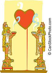 Mayan Heart
