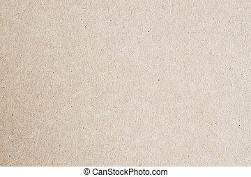 Organic cardboard texture close-up, with various villi,...