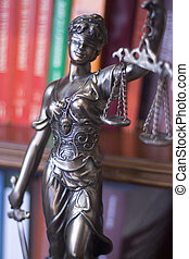 Law office legal statue Themis - Law offices of lawyers...