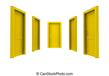 Choose a Yellow Door