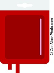 Blood transfusion icon isolated - Blood transfusion icon...