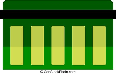 Circuit board, technology icon isolated