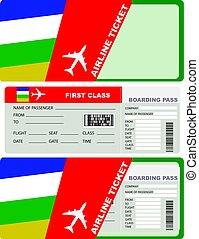 Plane ticket first class in Central African Republic
