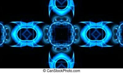 blue flower background,disco fancy