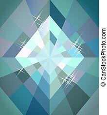 Diamonds poker wallpaper, vector illustration