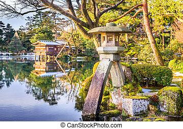 Japanese Garden - Kanazawa, Japan Japanese garden.