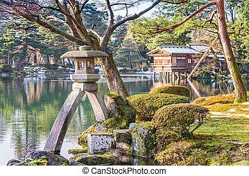 Japanese Gardens - Kanazawa, Japan Japanese garden.