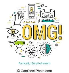 Fantastic Entertainment - Line Art Concept - Fantastic...