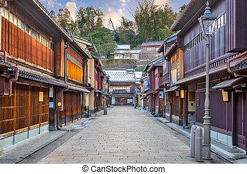 Higashichaya District of Kanazawa, Japan - Kanazawa, Japan...