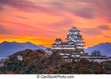 japón,  Himeji, castillo