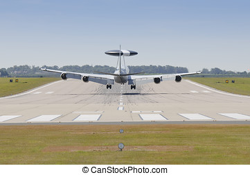 Boeing E3-D Sentry - RAF WADDINGTON 19 JULY UK: Royal Air...