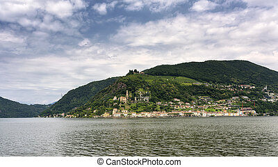 Ceresio lake (Ticino, Switzerland) - The Ceresio Lake...