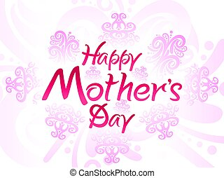 abstract artistic mother day background.eps
