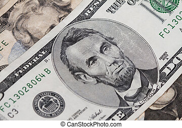 Abrahan Lincoln Five Dollar Bill - Abraham lincoln in the...