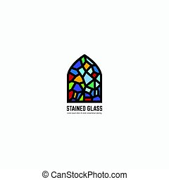 Stained glass logo