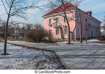 Soviet background- exhibition VDNH - Soviet background-...