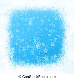 Abstract snowflake background for Your design