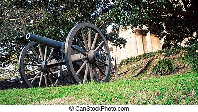 cannon Vicksburg Mississippi - A cannon Vicksburg...