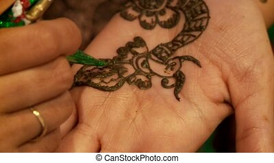 Henna Painting On Hand  - Henna Painting On Arms