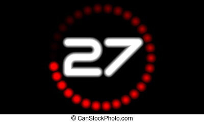 Counter8S-13 - Digital timer counter (full HD 1920x1080...