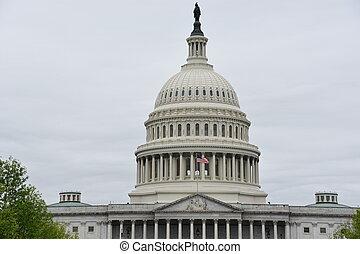 ワシントン, 国会議事堂, 私達, DC