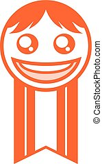 happy face medal - design of happy face medal