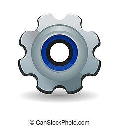 Gear, cogwheel, gearwheel, rackwheel, screw-wheel - Gear...