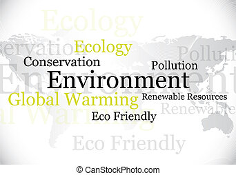 environment / eco design - abstract environment background...