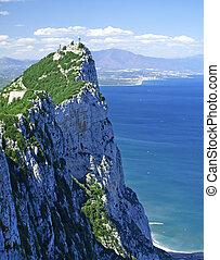 Gibraltar - The top of Gibraltar