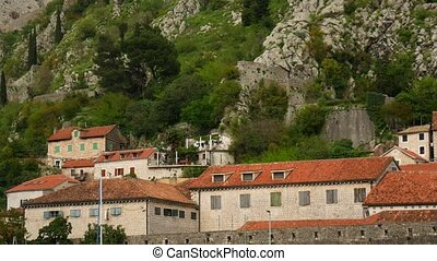 The Old Town of Kotor, City streets. Montenegro