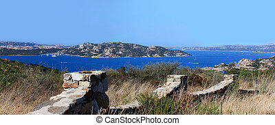 View Above The Sea - Sardinia, Gallura - Travel Series....